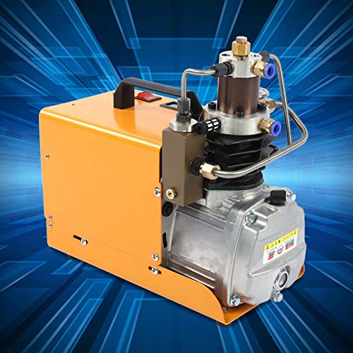 Bomba de compresor de aire 30MPa 1800W 4500PSI Inflador eléctrico Equipo neumático de alta presión (mejorado)(EU)