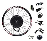 72V 2000W Rear Wheel Motor, 2000W Electric Bicycle Conversion Kit with Mutifunction SW900 Display,72V 45A Controller, with 7 Speed flywheel (29inch)