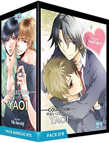 Boy's Love Collection - Pack n°8 - Manga Yaoi (5 tomes)