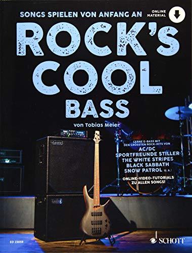 Rock's Cool BASS: Songs spielen von Anfang an. E-Bass. Ausgabe mit Online-Audiodatei.