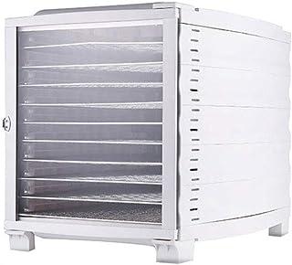 Déshydrateur Alimentaire, Contrôle de la Température 30-70 ° C, Durée de 1-24 Heures, avec 10 Plateaux, Faible Consommatio...