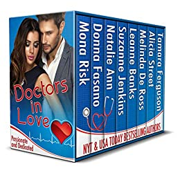 Doctors in Love: Passionate and Dedicated by [Mona Risk, Donna Fasano, Natalie Ann, Suzanne Jenkins, Leanne Banks, Melinda De Ross, Alicia Street, Tamara Ferguson]