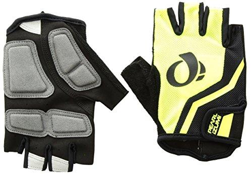 PEARL iZUMi Men's SELECT Glove, Screaming Yellow/Black, Large