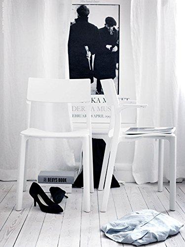 JANINGE - Stuhl, weiß