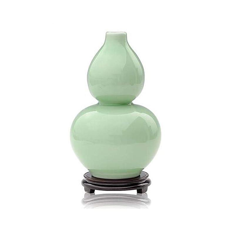 変換する阻害する主権者LBLMS 花瓶、陶器工芸品、ホームデコレーション、デコレーション (Color : Green)