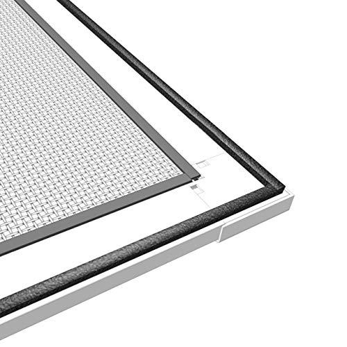 wip Insektenschutztür Alu-Fliegengittertür 100x210 weiß