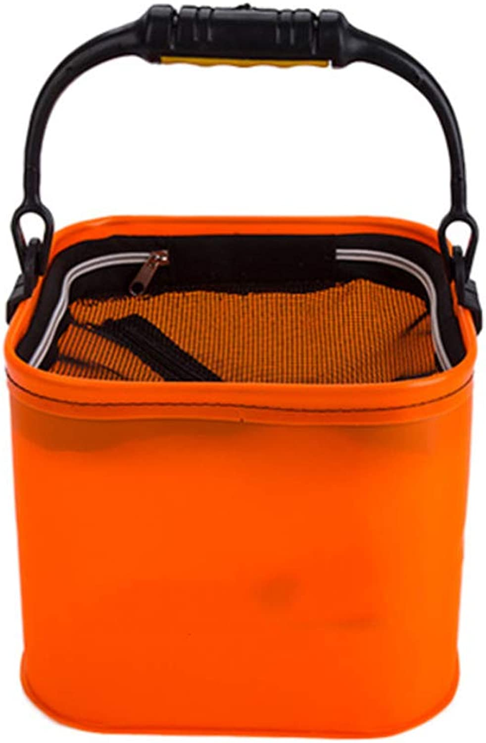 Large Capacity Collapsible Bucket,Portable Folding Water Container Space Saving Suitable for Outdoor Camping,Hiking & Home-A 7L