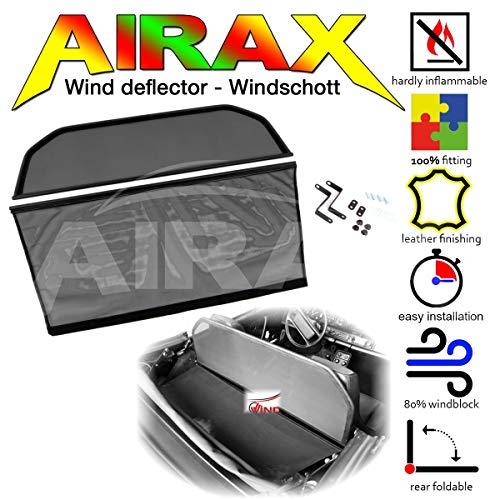 Airax Windschott für 911 TYP 964 & G-Modell Windabweiser Windscherm Windstop Wind deflector déflecteur de vent