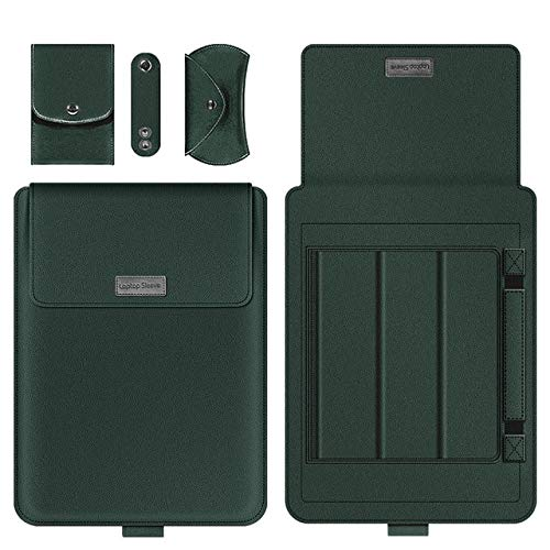 SFBBBO laptop stand Laptop Notebook Case Tablet Sleeve Cover Bag 11' 12' 13' 14' 15' For Pro Air Retina 14 Inch 14inch Darkgreen