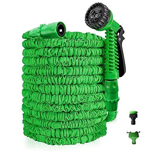 XLL Uitbreidbare tuinslang 150 voet Uitbreiding slang Pijpen Met Mixer Tap Connector Slang Hanger Opbergtas 3/4