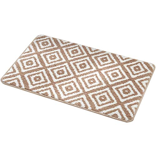 Buy Discount CarPet Bedroom Bathroom Door mat Floor mats Non-Slip Door mat (Color : Brown, Size : 40...