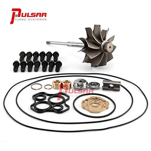 PULSAR Turbo Rebuild Kit Turbine Wheel Shaft for 94-97 7.3 Powerstroke OBS Truck TP38 Turbo