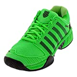 K-Swiss Men's Hypercourt Express Tennis Shoe (Neon Green/Black, 8)