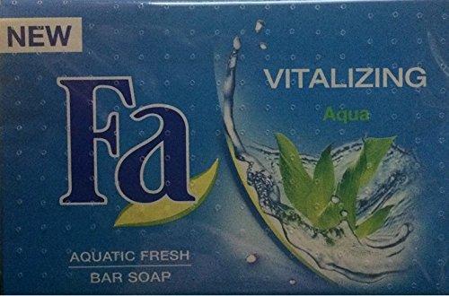 Fa Seife Vitalizing Aqua , 4er Pack (4 x 100 g)