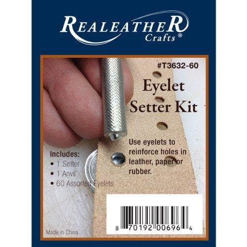 Realeather Crafts Eyelet Setter Kit by Realeather Crafts