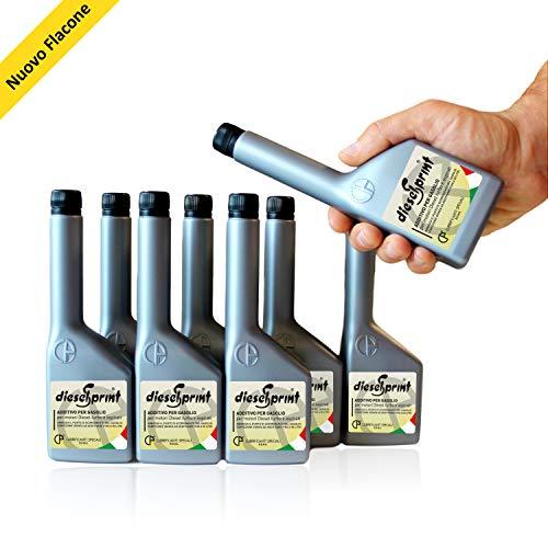 1 LITRO (8 flaconi da 125 ml) DIESELSPRINT Additivo multifunzione...