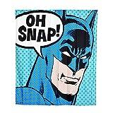 Elbenwald Batman Duschvorhang Wand Banner Oh Snap! Frontprint 180 x 200 cm Polyester blau