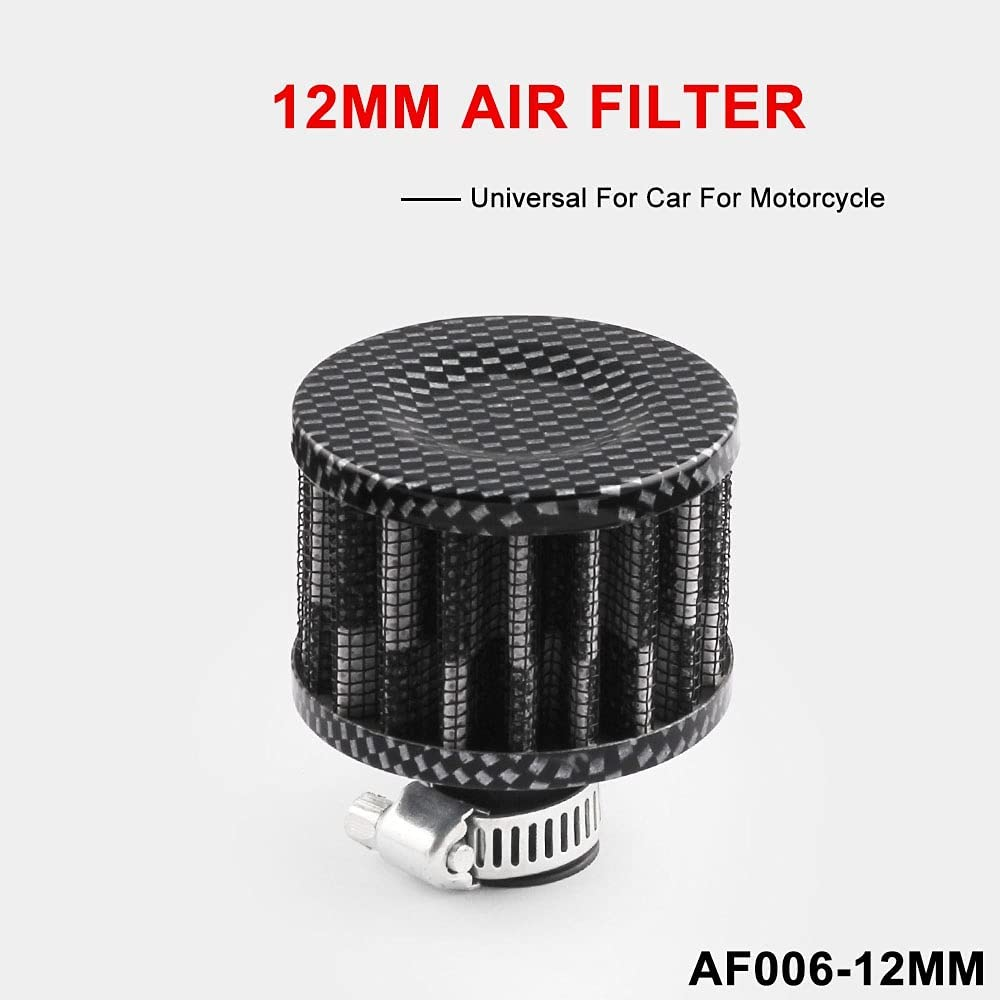 HPGCS 12MM Auto Car Accessories Oil Cold Air Intake Crank Case T