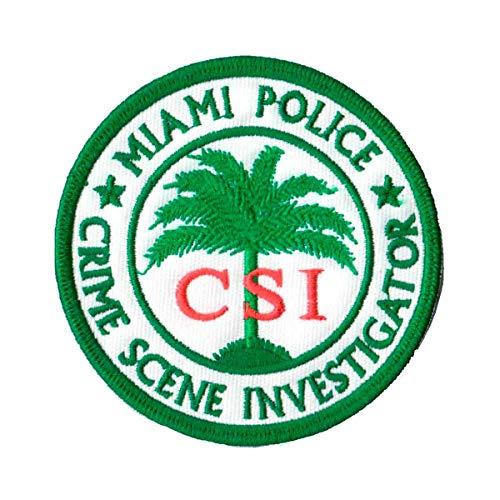 Patch Bordado - CSI Miami - Investigação Criminal PL60323-118 Fecho de Contato