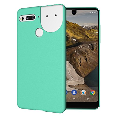 Essential Phone PH-1 Case, TUDIA Low Profile Design [LULA 2.0] [Improved Version] Polycarbonate Snap On Back Protective Cover for Essential Phone PH-1 (Compatible with 360 Camera) (Matte Black)