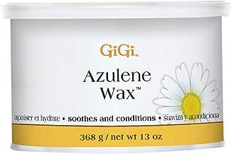 GiGi - Cera depilatoria de azuleno para todo tipo de pieles (368 g)