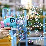 LPing Soffiatore a Bolle d'Aria Automatico Durevole per Bubble Machine per Bambini,Facile da Usare 500 Bolle al Minuto,Design a Prova di perdite Completamente Chiuso