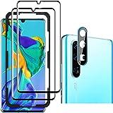 Luibor für Huawei P30 Pro Panzerglas Folie (2 Stücke),Anti-Öl Anti-Bläschen Transparenz Gehärtetem Glas Bildschirmfolie Schutzfolie für Huawei P30 Pro