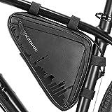 ROCKBROS Bike Triangle Frame Bag, Bike Triangle Bag, with Two Side Pockets, 1.5L