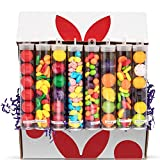 Variety Candy Box – Sweet & Sour Gumballs & Old Fashion Candy - Fun Candy Assortment – Great Candy Gift for Adults & Kids