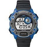 Timex Expedition Shock TW4B00700 - Reloj de Cuarzo para Hombres, Color Negro y Azul