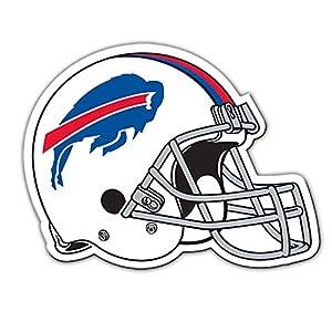 "Fremont Die NFL Buffalo Bills Vinyl Helmet Magnet, 8"", Team Colors"