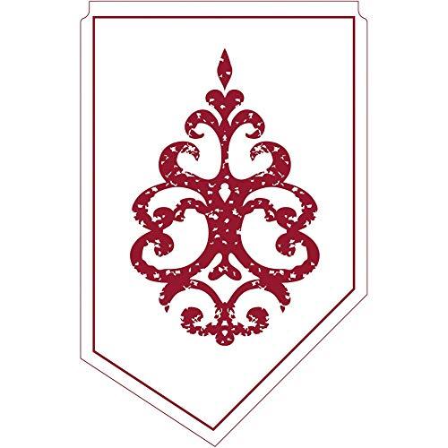 Kännchenanfasser Royal Line Bordeaux aus Tissue 9-lagig, 100 x 65 mm, 150 Stück