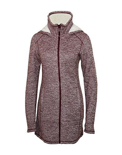 Bench Damen Lange Strick-Fleecejacke Strickjacke, Sassafras, M