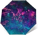 Sombrilla de triple pliegue para sombrilla Galaxy con impresión exterior