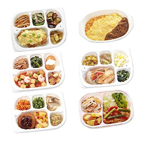 【冷凍】低たんぱくお弁当 いきいき御膳 たんぱく質8g以下セット 海
