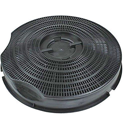 Genuine Smeg kseg50Typ 30anthrazit Carbon Dunstabzugshaube Vent Filter (235mm x 46mm)