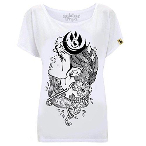 Archetype Apparel Damen T-Shirt - Artemis Tattoo (M)