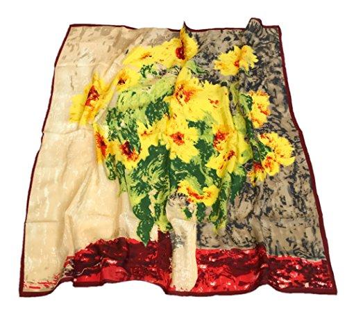 Prettystern zijden envelop doek impressionisme schilderij Claude Monet