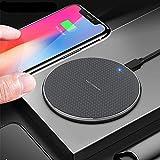 WYZQ Chargeur Rapide Qi pour IPhone12 11 P30Pro 2020 Mate 30 Honor V30Pro P40 Pro et Chargeur sans...