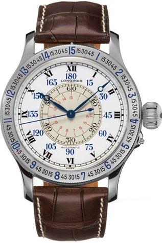 Preisvergleich Produktbild Longines The Lindbergh Hour Angle Watch L2.678.4.11.0