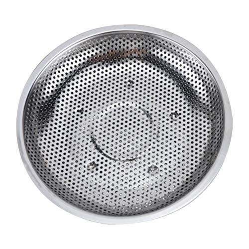 Cabilock Dampfgarkorb aus Edelstahl, Grillrost für Dampfgarer, Zahnstange für Konserven mit Dampf, Dampfgarer und Tablett