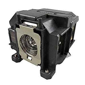 Supermait EP67 Replacement Projector Lamp with Housing, Compatible with Elplp67, Fit for EB-S02 EB-S11 EB-S12 EB-SXW11 EB-SXW12 EB-W02 EB-W12 EB-X02 EB-X11 EB-X12 EB-X14 EB-X15
