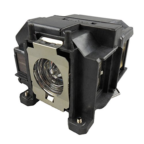 Supermait EP67 Replacement Projector Lamp Bulb with Housing Compatible with elplp67 Compatible with EB-S02 EB-S11 EB-S12 EB-SXW11 EB-SXW12 EB-W02 EB-W12 EB-X02 EB-X11 EB-X12 EB-X14 EB-X15 EH-TW480