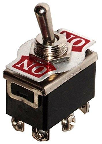 Aerzetix - Switch Kippschalter DPDT ON-ON 10A/250V 2 Positionen