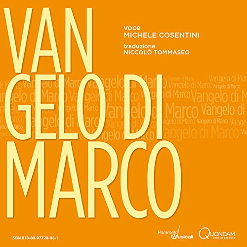 Vangelo di Marco [St. Mark's Gospel] audiobook cover art