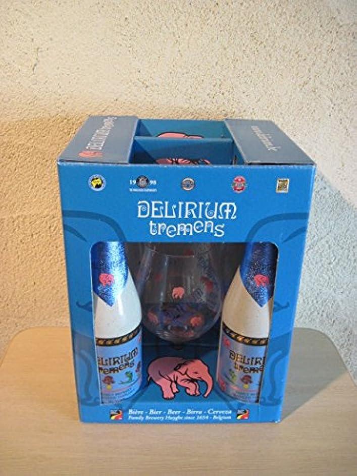 不完全高度な結果としてベルギー デリリュウム トレメンス 専用グラス付きギフトボックス