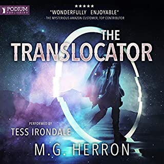 The Translocator audiobook cover art