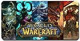 World of Warcraft großes Mauspad - wasserdicht und rutschfest (51, 900 * 400 * 3MM/35.5 * 15.7 * 0.12inch)