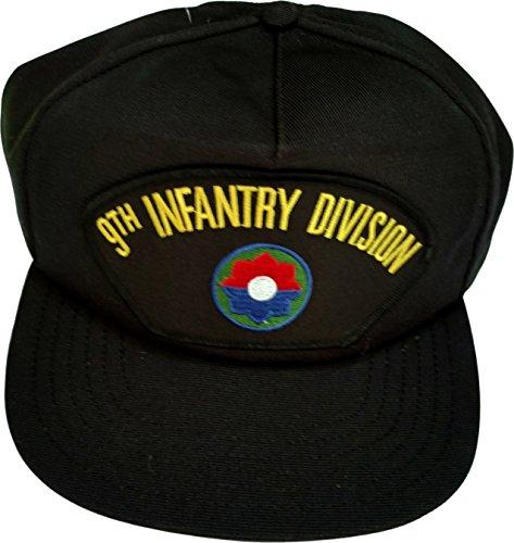 US Army 9th Infantry Division Veteran Ball Cap schwarz
