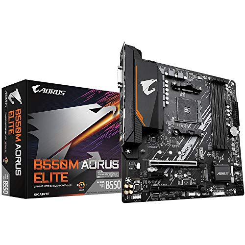 PLACA MAE (AMD) GIGABYTE B550M AORUS ELITE DDR4 AM4